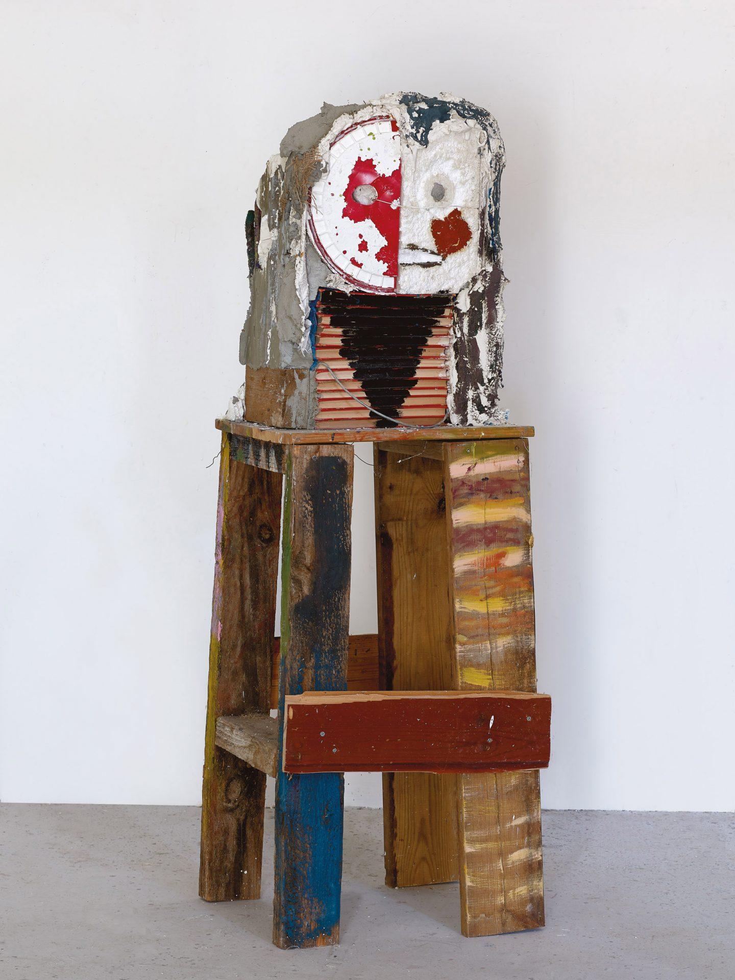 Amit Cabessa, 2019, Mixed media, H - 141 cm (1)