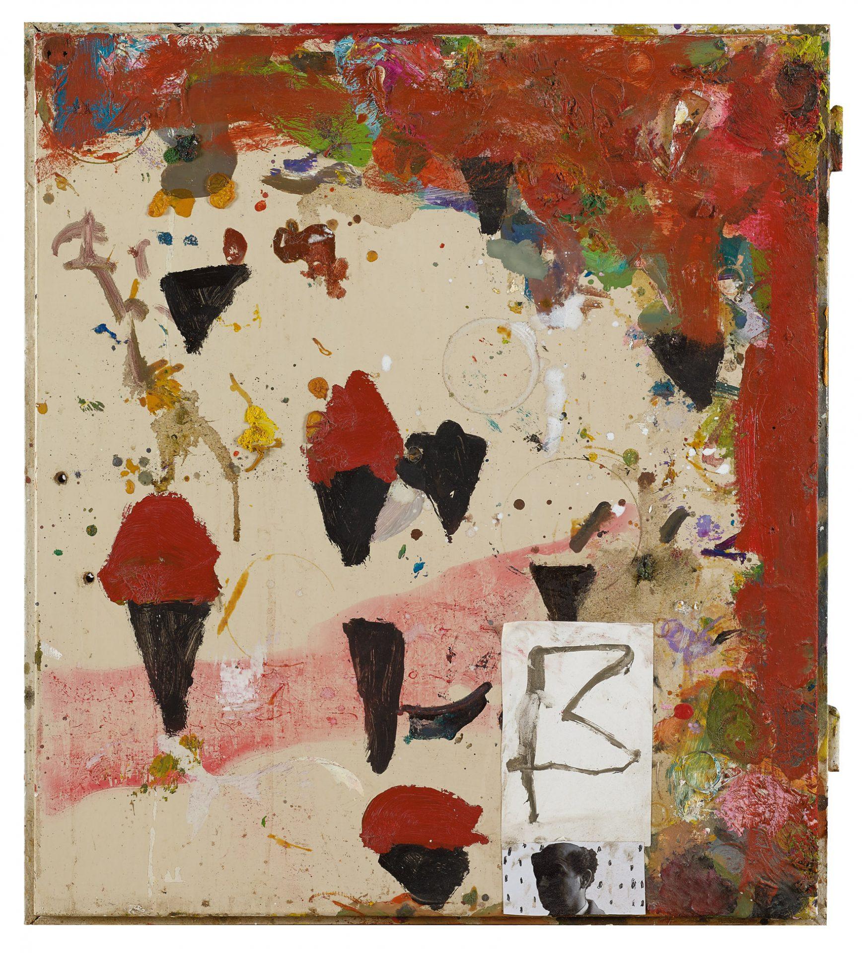 Amit Cabessa, 2019, Mixed media on canvas 65 xs 57