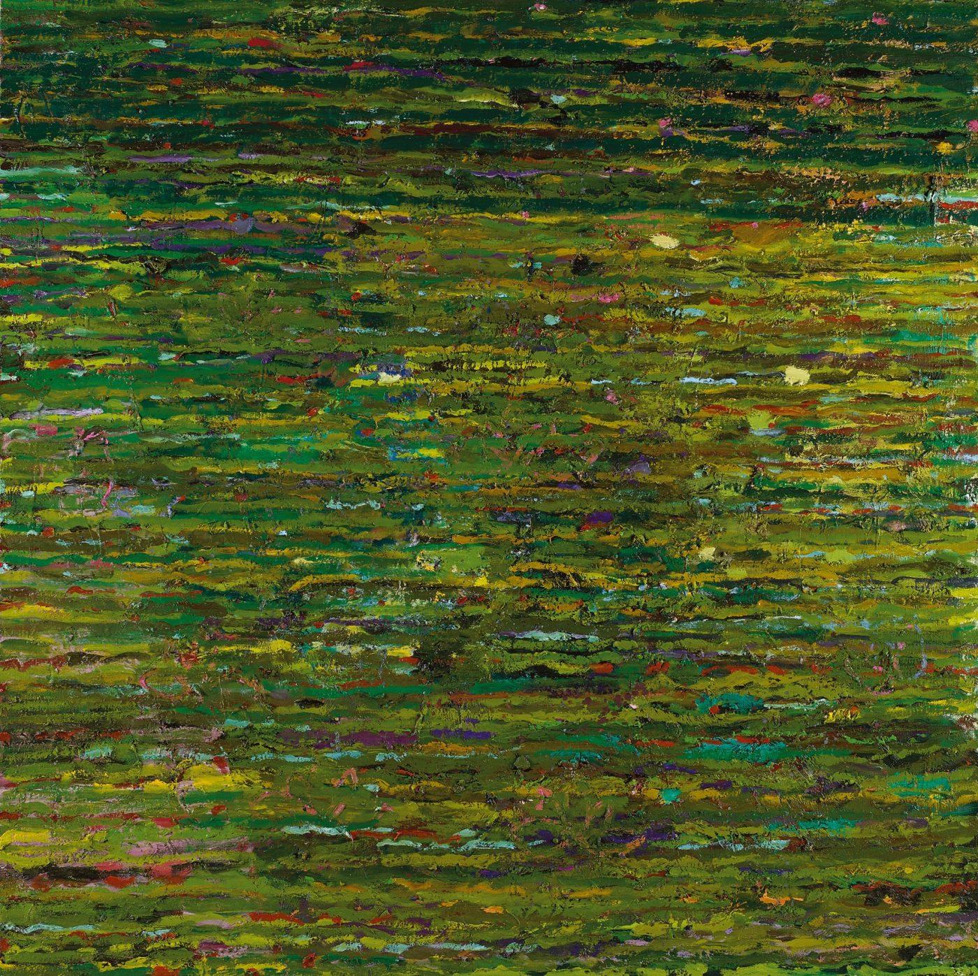 Amit Cabessa, 2019, Oil on canvas 150 x 150 cm,