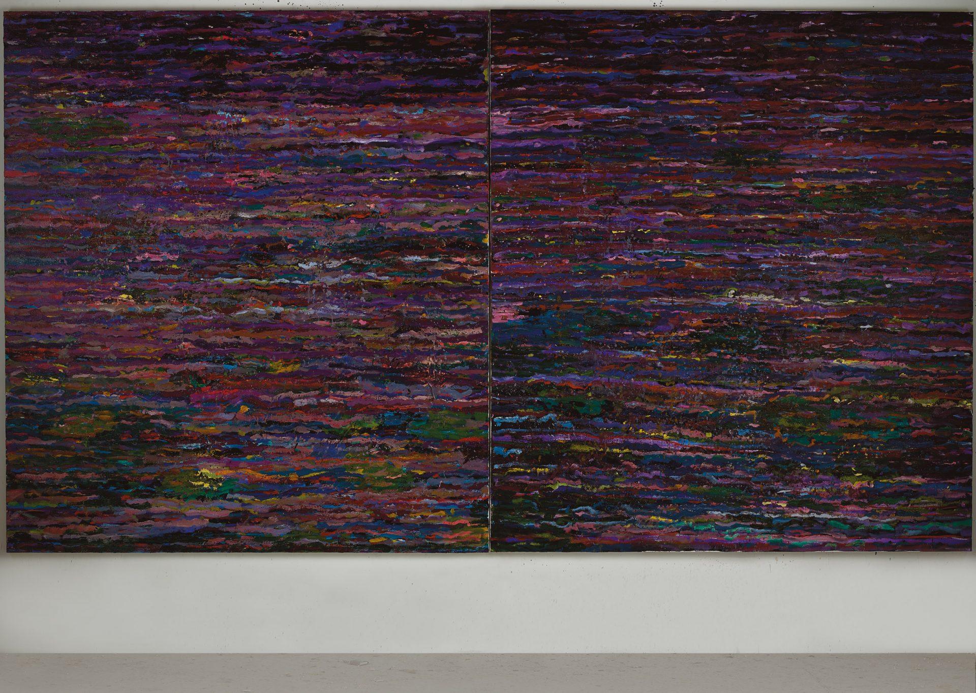 Amit Cabessa, 2019, Oil on canvas 190 x 340 cm (1)