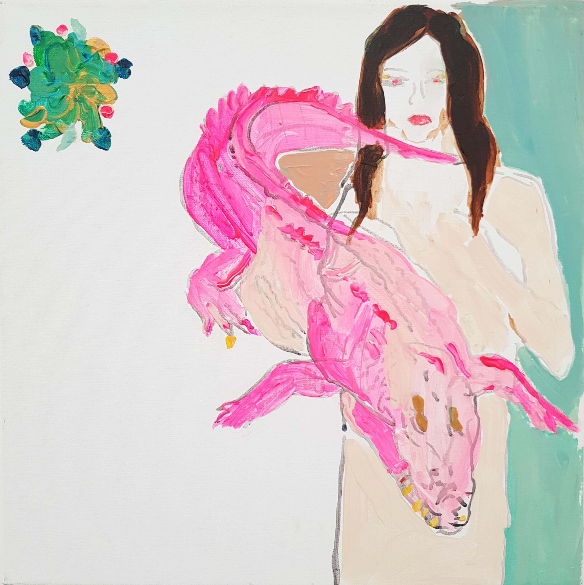 Alona Harpaz 6/15 Crocodile Rosa