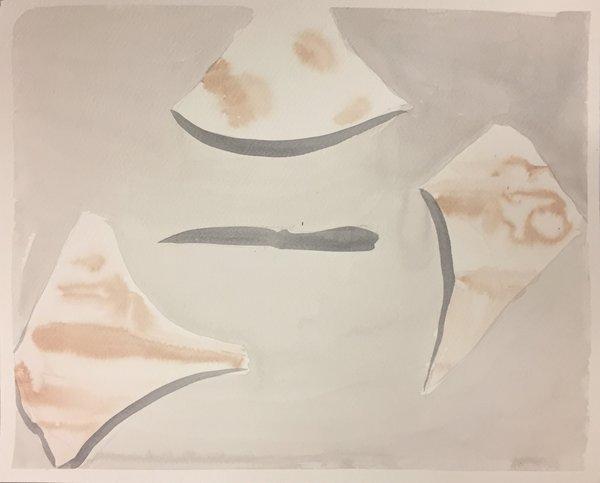1423_Alma Itzhaky, Knife II, 2015, Ink on paper, 28x35 cm-600x483