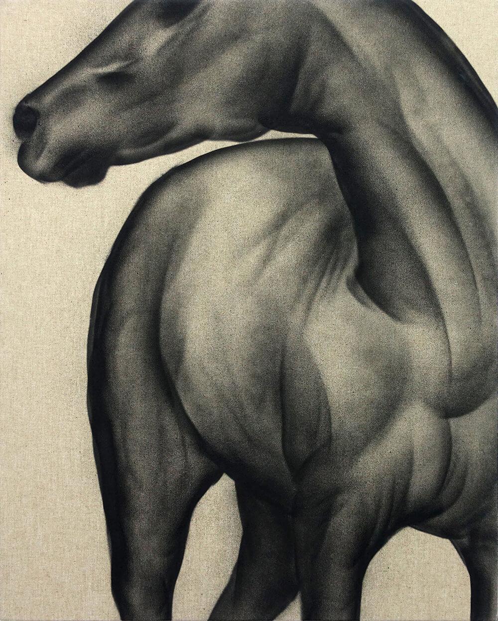 1617_Klone, Domestication of freedom, 2018, spray paint on canvas,100x80cm-ORIG_SIZE-1000x1247