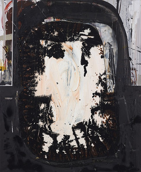 1282_Tsibi Geva, Untitled, 2015, Acrylic on canvas, 170x140 cm-491x600