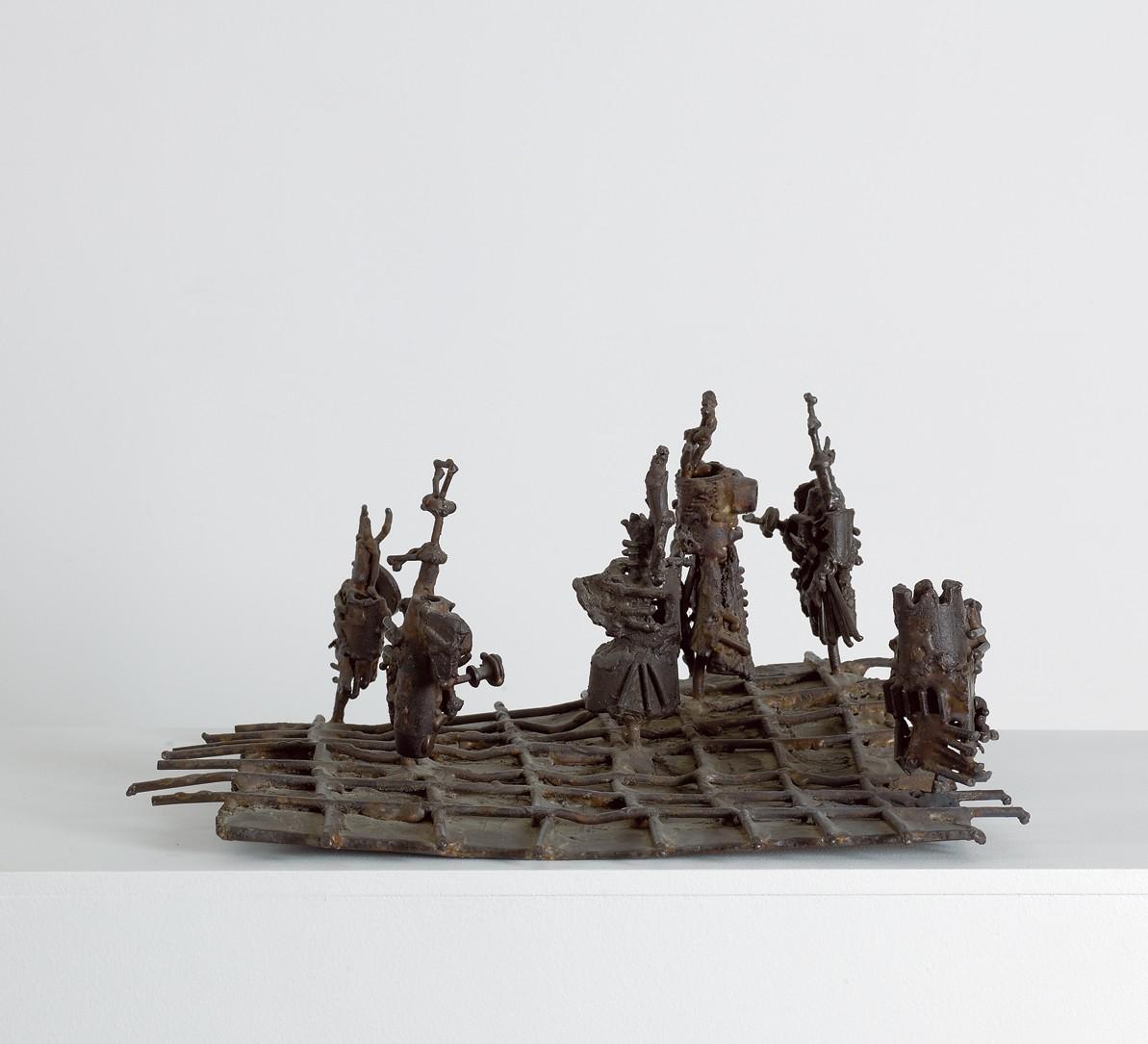 Chess 1957 Iron 40.5X43
