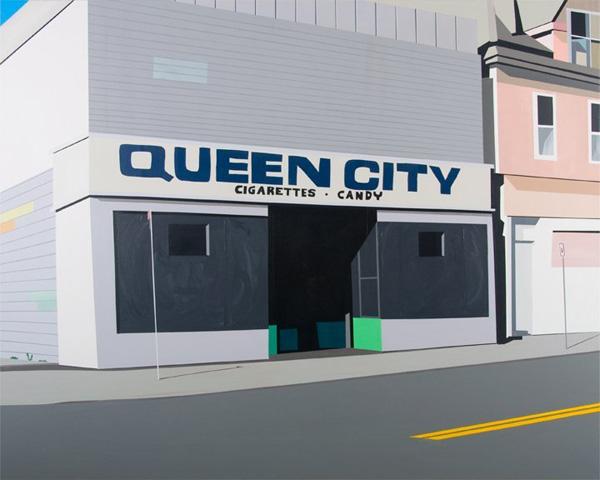 668_03 Brian Alfred, Lackawanna, 2010, Acrylic on canvas, 152