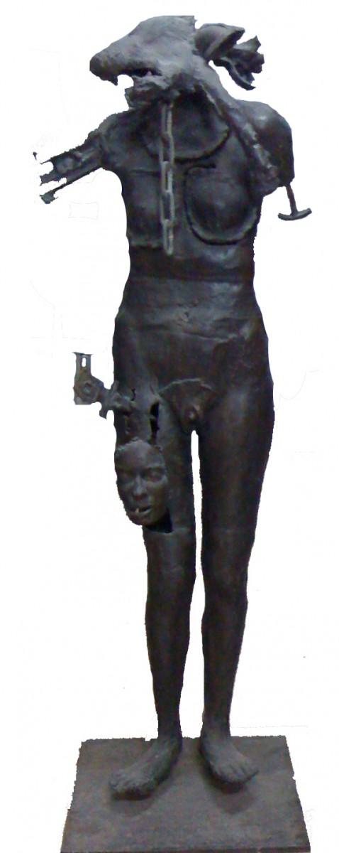 Igael Tumarkin, Bronze, H - 170 cm, 1968,Unique, 55