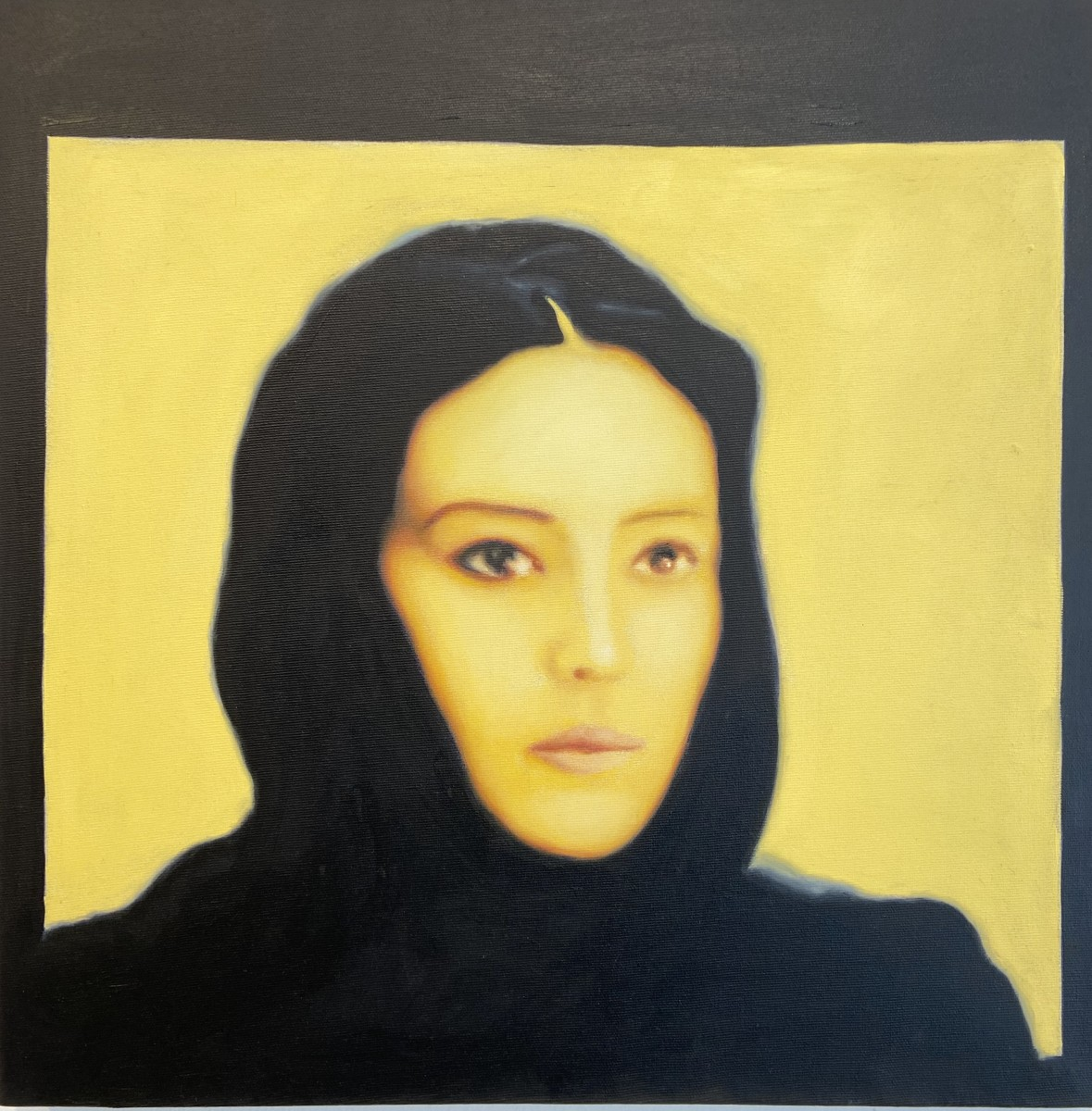 S- 2, Meir Pichhadze, Oil on 50 x 50 cm, 22,000 sekel