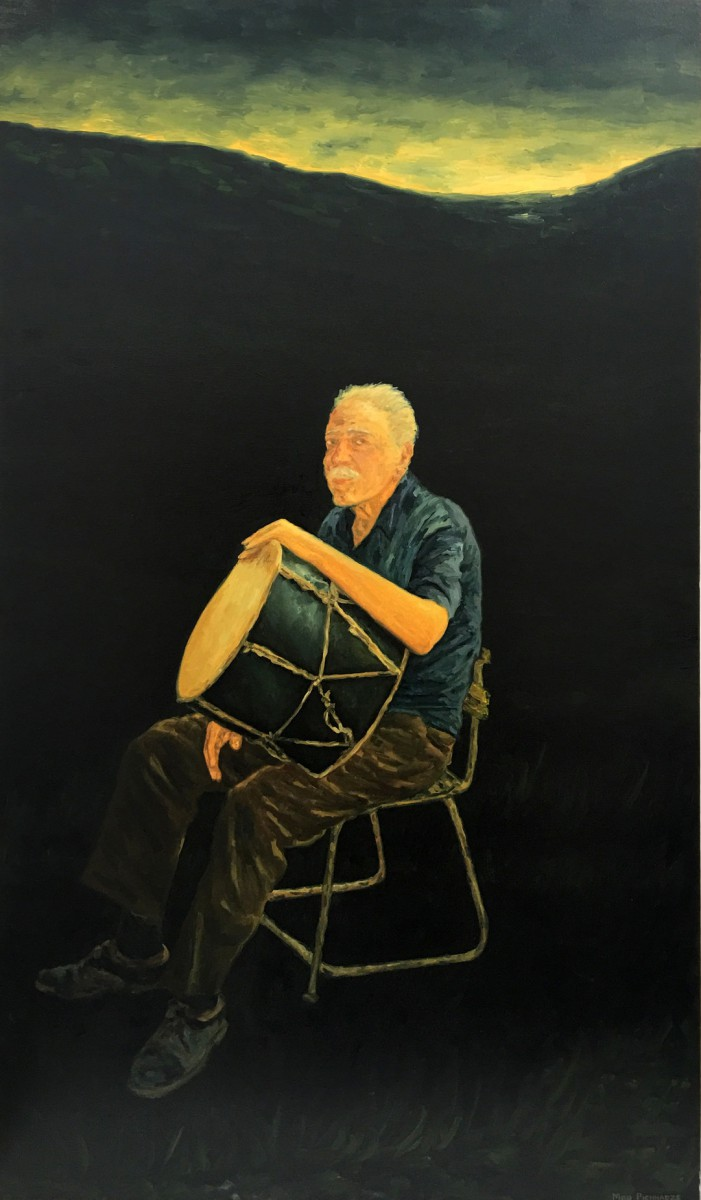 Meir Pichhadze, Untitled, 2000, Oil on canvas, 147x86 cm