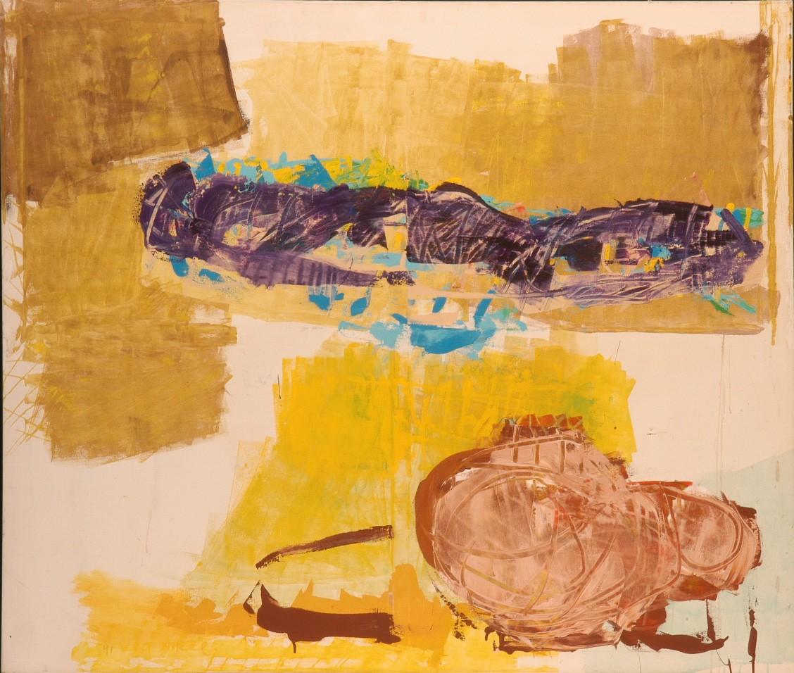 Lea Nikel, 1991, Acrylic on canvas 170 x 200 cm