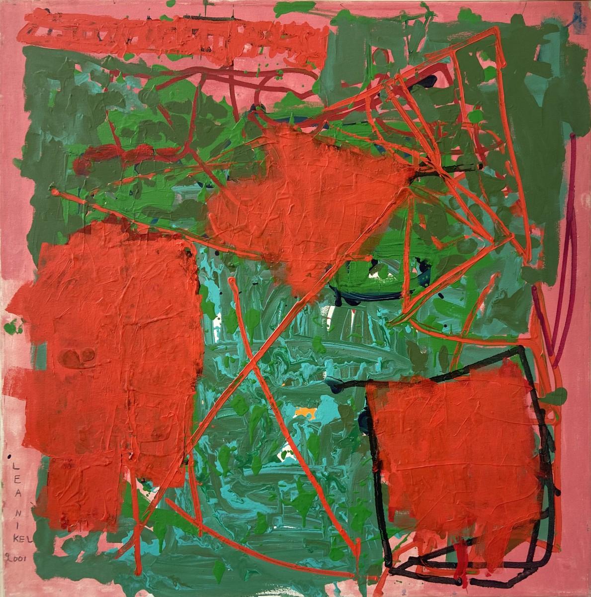 Lea Nikel Untitled Acrylic on canvas 100x100 cm,