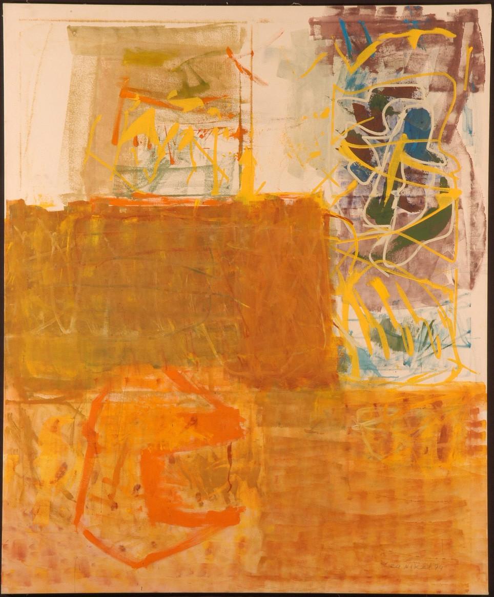 Lea Nikel acrylic on canvas 200 x 170 cm, 1994