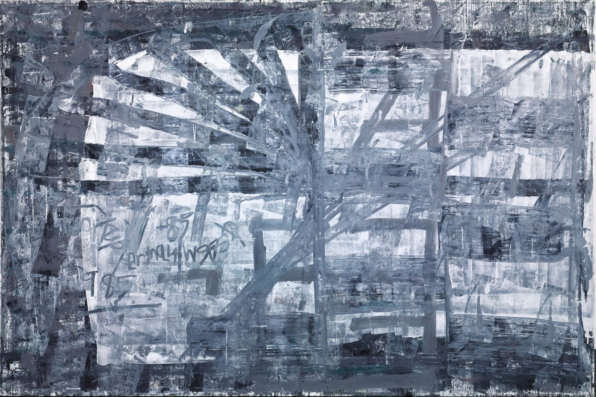 Moshe Kupferman, Untitled, 1985, Oil on canvas 130 X 195 cm