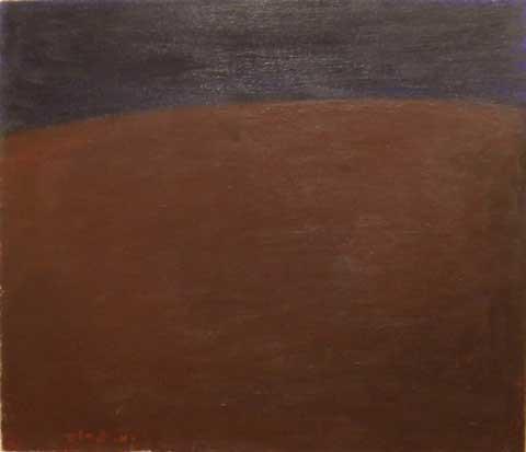 Michael Gross Landscape The 70 61x70 cm Oil on canvas,