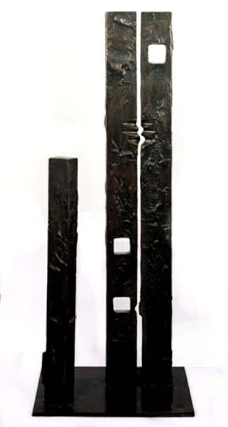 Igael Tumarkin Family Bronze H - 98 cm,