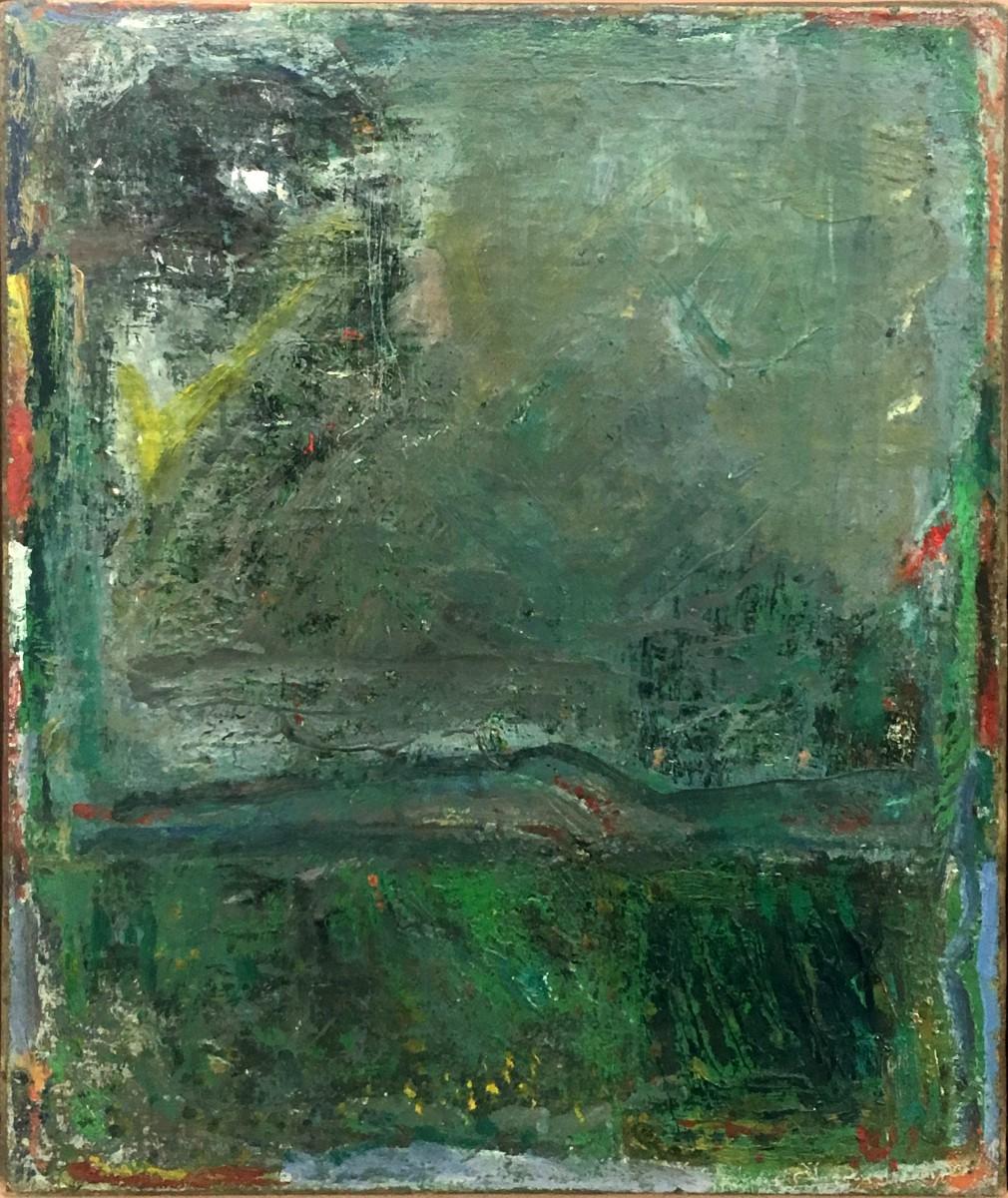 Yehezkel Streichman, 1958, Oil on canvas, 61x50 cm