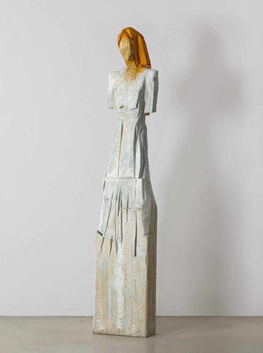Haim Senyor, 2021, Painted Wood, h-189 cm, 42,,000 ILS 1) (1)